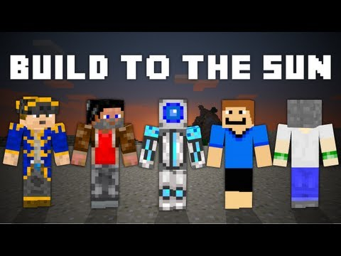 """Build To The Sun"" - A Minecraft Parody of The Wanted's Chasing The Sun"
