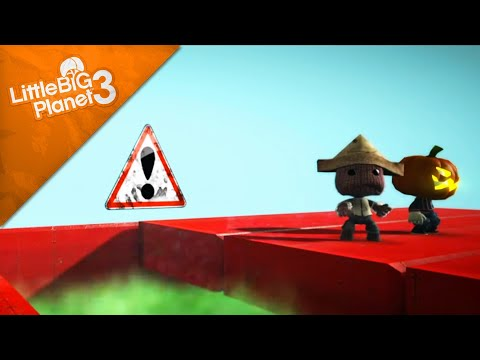 LittleBigPlanet 3 - 5 Ways To Die In LBP3 (another funny film) [Film/Animation]