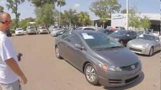Autoline's 2010 Honda Civic Cpe EX Walk Around Review Test Drive