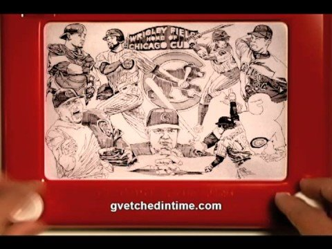 Etch A Sketch Art by George Vlosich III