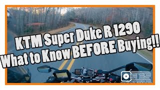 2. KTM Super Duke 1290 - What to Know Before Buying!