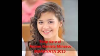 Timp de o zi- Naumi Daniela Minescu-MARANATA 2015