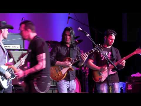 All Along The Watchtower - Gary Hoey, Dany Franchi, Tallan Noble Latz and Kelsi Kee at The 2016 Dallas International Guitar Show  Day 3