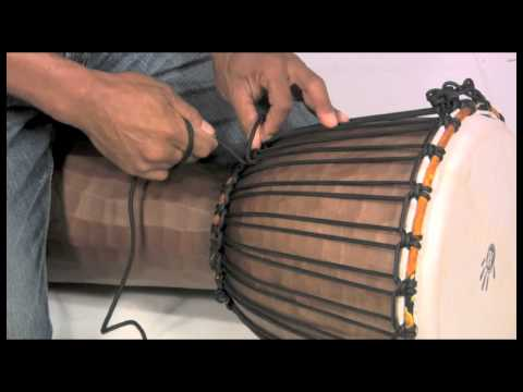 How to Tune a Djembe, Rope Tuning Instructions – X8 Drums