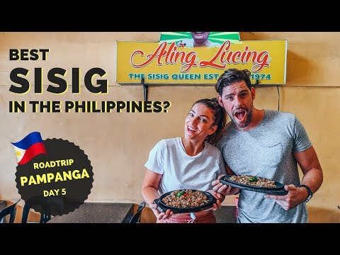 The BEST SISIG in the PHILIPPINES - Aling Lucing in Angeles City