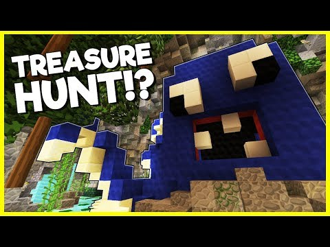 MY FIRST EVER MINECRAFT TREASURE HUNT!? | Heroes Hangout | #14
