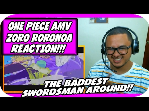 One Piece AMV - Roronoa Zoro - Promise Of a Swordman ᴴᴰ REACTION!!!