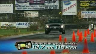 MotorWeek Road Test: 2009 Cadillac CTS-V