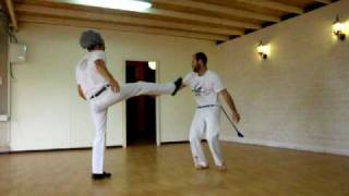 Kfar Szold Israel  city pictures gallery : capoeira superman & mogli pt.2