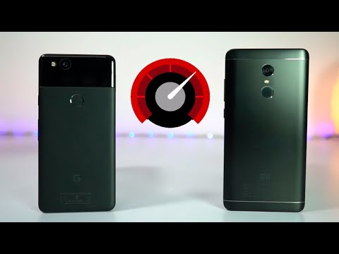 Redmi Note 4 vs Pixel 2 / XL Speed Test and Memory Management Test