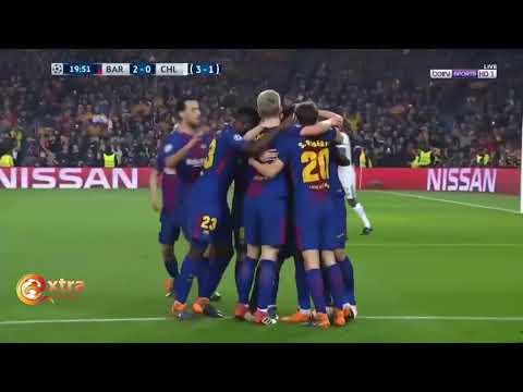 Barcelona vs Chelsea 3 0 All Goals & Highlights UCL 14 03 2018 HD