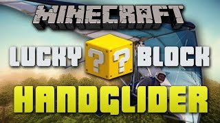 Minecraft LUCKY BLOCK HANGLIDERS #1 with Vikkstar, BajanCanadian, Bodil&Simon