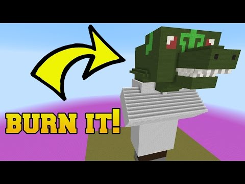WHAT IS WRONG WITH THIS VILLAGER?!?! BURN IT!!!