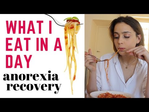 WHAT I EAT IN A DAY - anorexia recovery