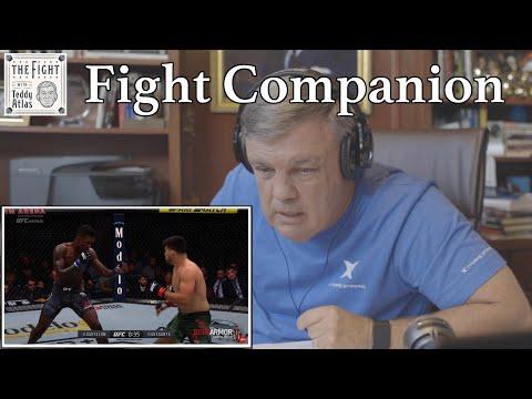 Teddy Atlas watches ISRAEL ADESANYA vs KELVIN GASTELUM | The Fight Companion
