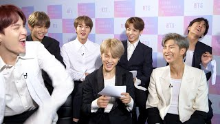 "Video BTS Take BuzzFeed's ""Which Member Of BTS Are You?"" Quiz MP3, 3GP, MP4, WEBM, AVI, FLV Agustus 2019"