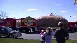 Mountain Home (ID) United States  City new picture : Famous Idaho Potato Tour Truck in Mountain Home Idaho