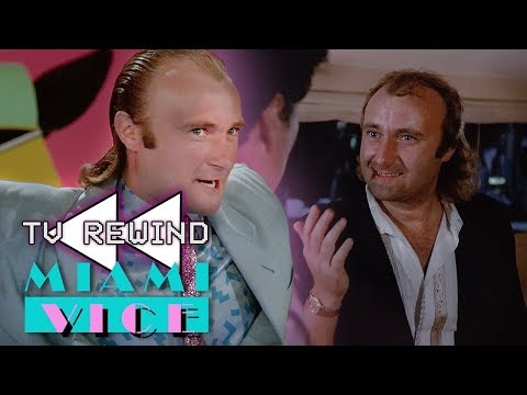 Phil Collins in Miami Vice