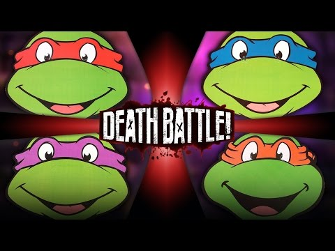 DEATH BATTLE! - Teenage Mutant Ninja Turtles: Battle Royale