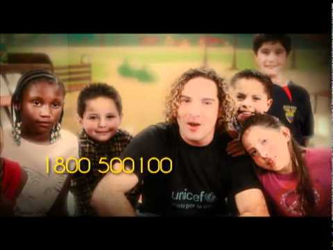 DAVID BISBAL - Spot UNICEF