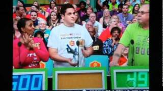 Rachel Reynolds and Gwendolyn Osborne Smith playing Badminton on The Price is right 1-21-11.