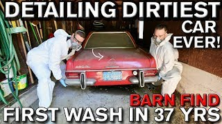 Video Detailing Dirtiest Car Ever! First Wash in 37 Years Mercedes 280 SL MP3, 3GP, MP4, WEBM, AVI, FLV September 2019