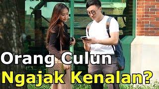 Video REAKSI CEWEK DIAJAK KENALAN ORANG CULUN - Social Experiment Indonesia MP3, 3GP, MP4, WEBM, AVI, FLV Oktober 2018