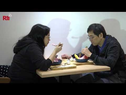 Geraspeltes Eis an heißen Tagen: Typisch Taiwan?