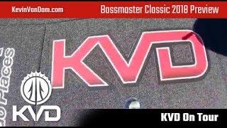 KVD Bassmaster Classic 2018 Preview