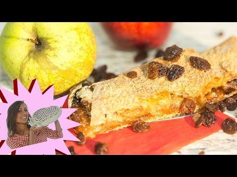 ricetta vegan - strudel di mele