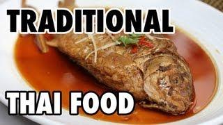 Traditional Thai Food At The Local Restaurant In Bangkok