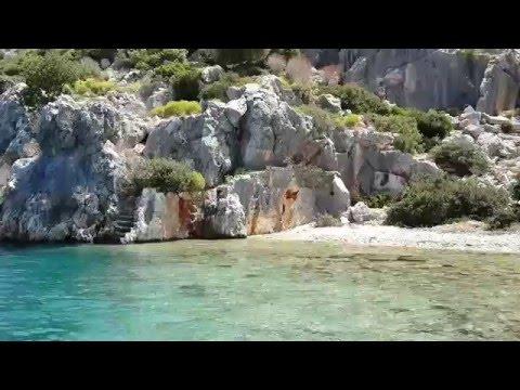Kekova Adası Kayıp Şehir Demre - Antalya видео