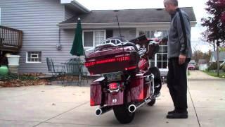 8. 2010 Harley Davidson CVO Screaming Eagle Ultra Classic