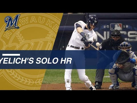 Video: NLCS Gm7: Yelich's 1st-inning homer in Game 7