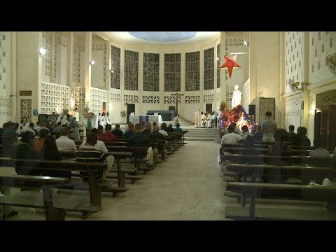 Service members and personnel from both Combined Joint Task Force – Horn of Africa and Camp Lemonnier attended Christmas Service at the Cathedral in Djibouti City. More than 40 members of the group attended the service, which was said in both English and French. Watch the video to see just one of several events that continue to strengthen relationships between the U.S. and Djibouti!