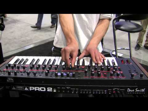 [NAMM] Dave Smith Instruments Pro 2 & DSM01
