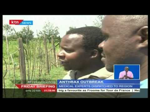Over 60 residents of Rongai have been diagnosed and treated with Anthrax
