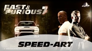 Nonton Fast & Furious 7 (Rápidos y Furiosos 7) - Speed Art Wallpaper Film Subtitle Indonesia Streaming Movie Download