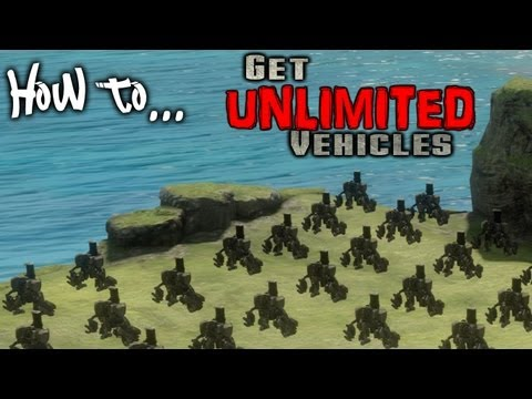 How to get unlimited vehicles