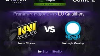 NLG vs Na'Vi, game 2