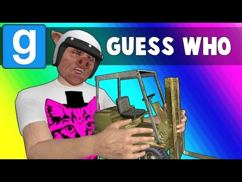 Gmod Guess Who Funny Moments - Bunnies on a Plane! (Garry's Mod)