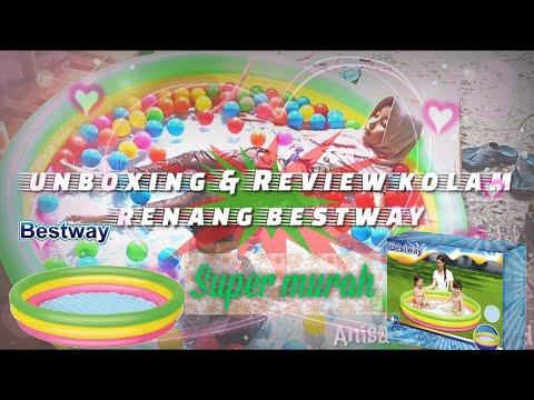 kolam renang jumbo super murah bestway review & unboxing