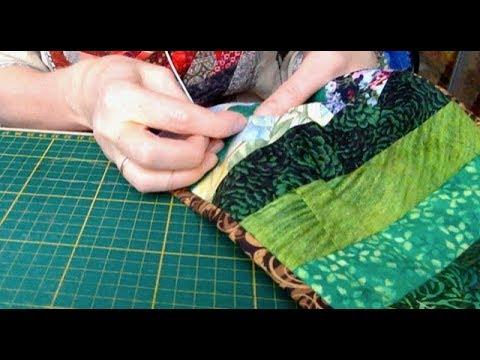Лоскутный эфир 37. Как простегать лоскутное одеяло?