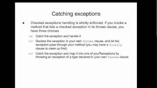 OO Design In Java - PPT Lecture 8 - Live (3/28/11)