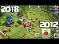 CLASH OF CLANS ☆ 2012 vs 2018!