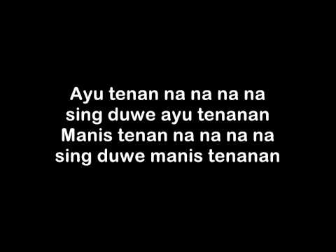 Endank Soekamti - ASU TENANAN (lyric on screen)