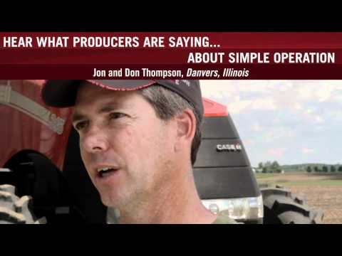 0 Simple Operation: Case IH Seems to Be One Step Ahead