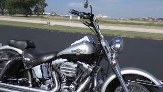 5. 106784 - 2003 Harley Davidson Heritage Softail Classic   FLSTCI - Used motorcycles for sale