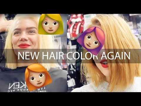 Changing my hair color AGAIN! - Linda Hallberg