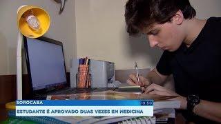 Jovem desenvolve método próprio de estudo e conquista vaga no curso de medicina da USP